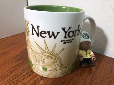 星巴克 紐約 城市杯 馬克杯 city mug icon 無SKU微瑕 16oz(大杯)CS版 絕版品