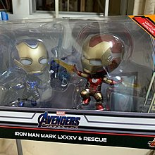 Hottoys iron man mk85 & rescue cosbaby