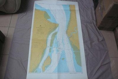 紫色小館90-1---DEPTHS IN METRES-航海圖-PINAG HARBOUR