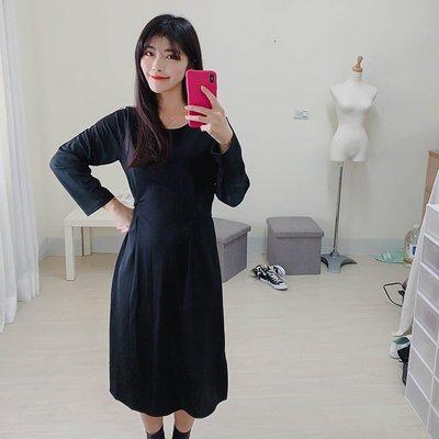 【ZEU'S】法式清新綁帶長洋裝『 02120908 』【現+預】A