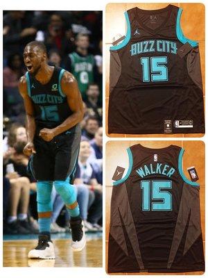 Kemba Walker Nike NBA 黃蜂隊城市版球衣 天行者 飛人標 Jordan City