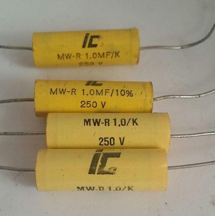 【買2送1】1mf250V 無極性電容,高音分音器可用,可並聯使用。