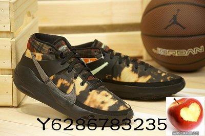 NIKE KD 13 EP BLEACHED 黑格紋 火焰 杜蘭特 籃球 耐磨XDR DA0894-005 休閒運動慢跑鞋