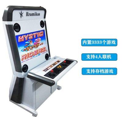 大型格斗機月光寶盒拳王街霸家用街機雙人搖桿投幣液晶游戲機