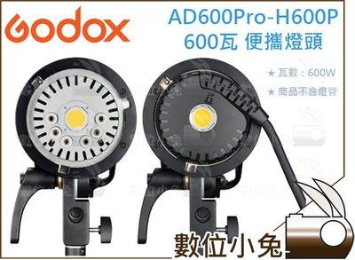 數位小兔【Godox 神牛 AD600Pro-H600P 600瓦 便攜燈頭】保榮卡口 攝影燈 Bowens接口 外拍燈