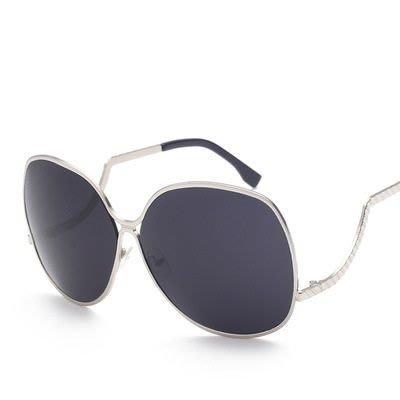 太陽眼鏡 偏光墨鏡-個性方圓彎曲鏡架男女眼鏡配件9色73en35[獨家進口][米蘭精品]