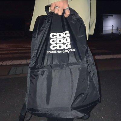 【P+C】Comme des Garcons CDG Logo Backpack 帆布 後背包 男女 Supreme
