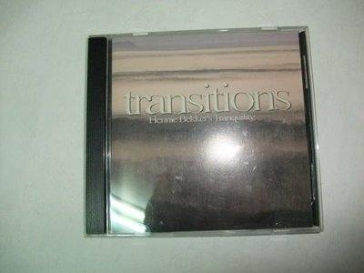 寶林二手原版CD transitions Hennie Bekkirs Tranquility