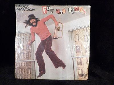 古玩軒~(LP黑膠唱片)12寸西洋黑膠Chuck Mangione FUN AND GAMES~ WST743