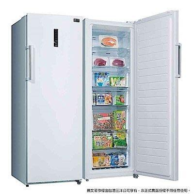 缺貨中~~SANLUX台灣三洋 250公升 直立式冷凍櫃 SCR-250F 自動除霜 全機保固1年