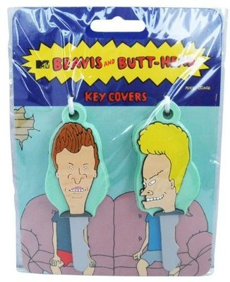 (I LOVE樂多)MTV 癟四與大頭蛋鑰匙保護套 BEAVIS AND BUTT-HEAD