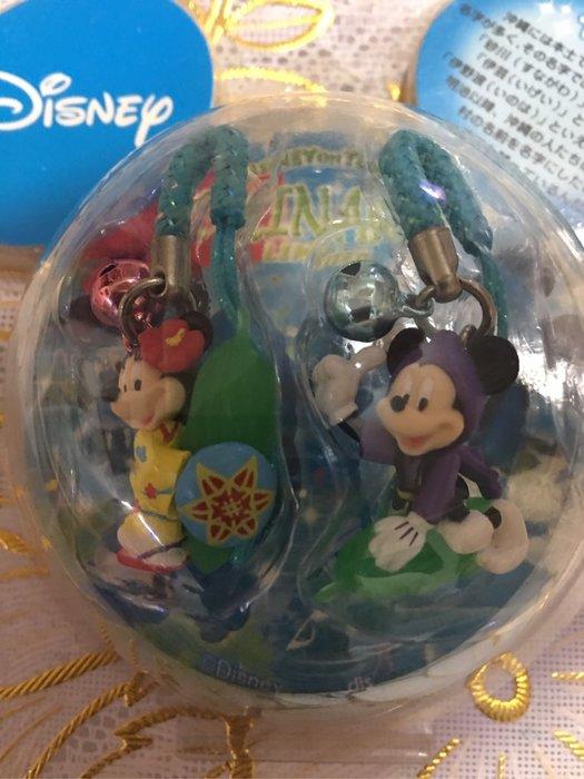 沖繩限定 迪士尼米奇米妮吊飾