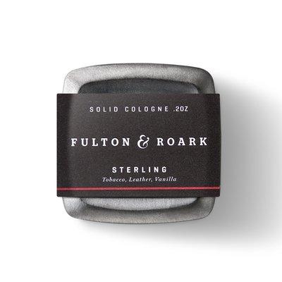 美國 Fulton & Roark - 頂級固態古龍水(史達林 / Sterling)香膏 固態香水 體香膏