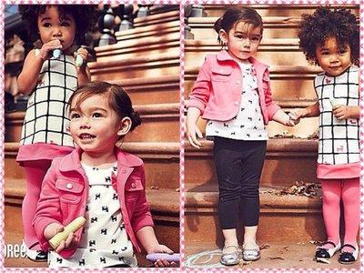 美國GYMBOREE正品 Colorful Fleece Jacket粉色短版刷毛外套12~24m.2~3T.售430元