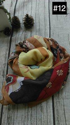 特賣【小天使時尚名品】春秋~雪紡絲巾披肩~12(一條80元.兩條150元.三條200元) 台中市
