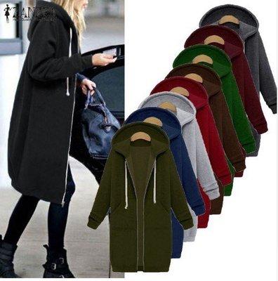 妮妮韓國服飾店~Add wool fleece female dress INS in autumn and winter long