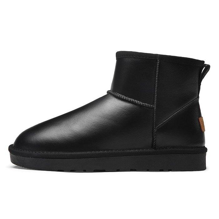 美洋洋@男鞋雪地時尚爆款靴男老人棉鞋中老年爸爸鞋保暖加絨厚老頭冬季爺爺冬天面包鞋