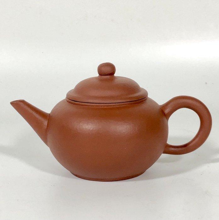 早期金鼎商標 紅土 泥料佳水平壺八杯可以堂普洱茶苑