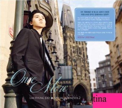 林亨柱韓版特別專輯Lim Hyung Joo Special Album Vol. 2 - Once More -3CD贈寫真集收電影南極日記曲