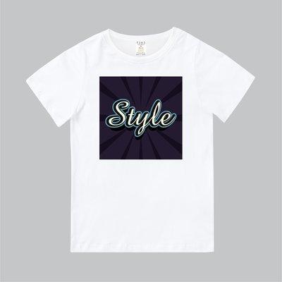 T365 MIT 親子裝 T恤 童裝 情侶裝 T-shirt 標語 話題 口號 美式風格 slogan Style 草寫