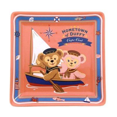 日本 東京 迪士尼 海洋 Tokyo Disney Sea 達菲 Duffy 雪莉玫 ShellieMay 陶瓷 方 盤