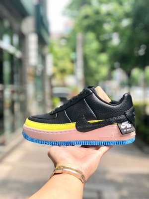 【Cheers】 Nike W Air Force 1 Jester XX SE AT2497-001 厚底 黑粉 女