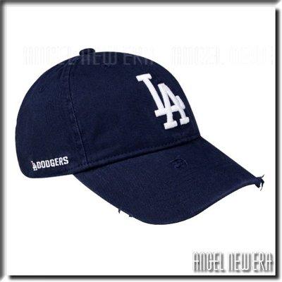 【ANGEL NEW ERA 】MLB Old Fashioned Cap LA  道奇 深藍 老帽 破壞 水洗 軟版