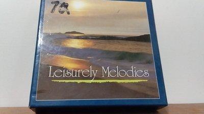 [文福影音館] 二手6CD BOX~Leisurely Melodies~犀牛唱片發行/學兒館有限公司