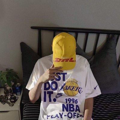 NBA湖人季後賽 紀念tee · 落肩袖設計.寬松有型 尺碼 :M - XL