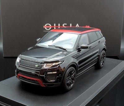 【M.A.S.H】現貨瘋狂價 Kyosho 1/18 Range Rover Evoque black