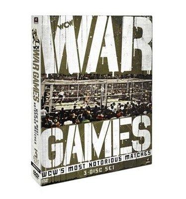 ☆阿Su倉庫☆WWE摔角 WCW War Games: WCW's Most Notorious Matches DVD WCW戰爭遊戲精選專輯