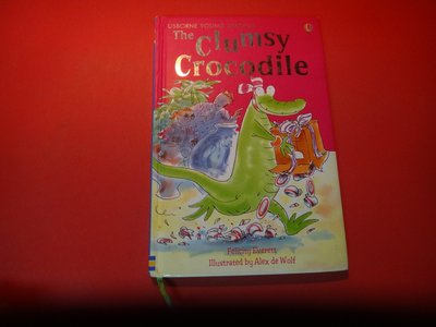 【愛悅二手書坊 17-27】The Clumsy Crocodile       F. Everett (內附光碟)