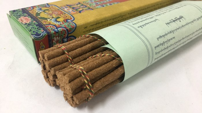 [綺異館] 西藏香 納木措檀香草本香  NAMTSO incense 淨化香 供佛 放鬆安神 全天然 特級香品