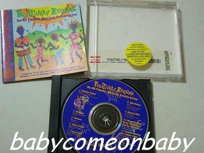 舊CD 英文合輯 POSITIVELY REGGAE 雷鬼音樂精選12首 (進口版專輯) 保存良好99%無刮傷近全新