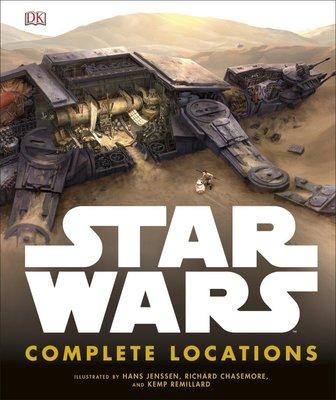 【布魯樂】《代訂9折中》[美版書籍] Star Wars: Complete Locations