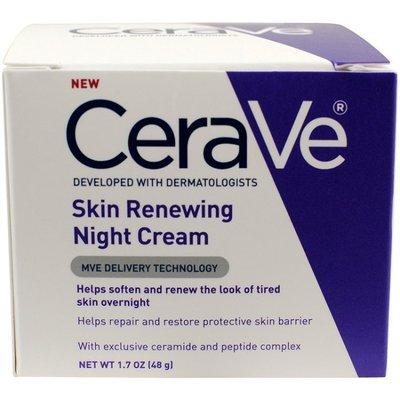 CeraVe 絲若膚 Skin Renewing Night Cream 保濕 滋潤 晚霜 平價版 海洋娜拉 美國 購入