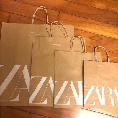 國外專櫃品牌紙袋~西班牙ZARA 紙袋/ 提袋/ 環保袋/ 購物袋/ 禮物袋 台北市