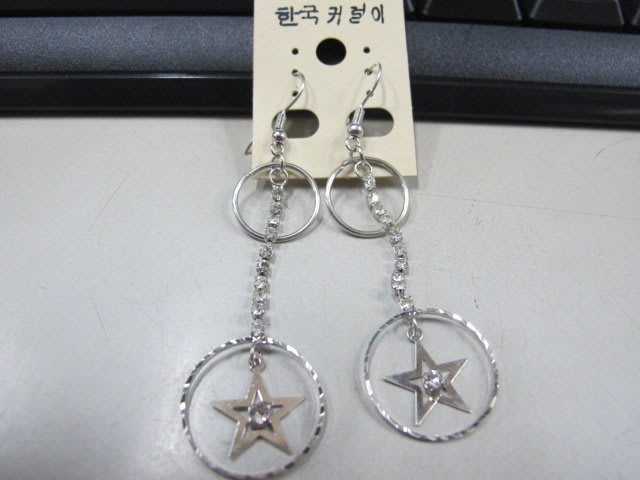 二手舖 NO.4499 時尚造型耳環 耳針 耳鉤 便宜賣 首飾飾品