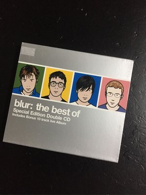 Blur 布勒樂團全記錄精選輯2CD限量版 The Best of Blur Special Edition