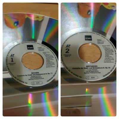 [LaserDisc/LD] Daniel Barenboim&Itzhak perlman~台北中華南海路口可面交/郵寄/超商