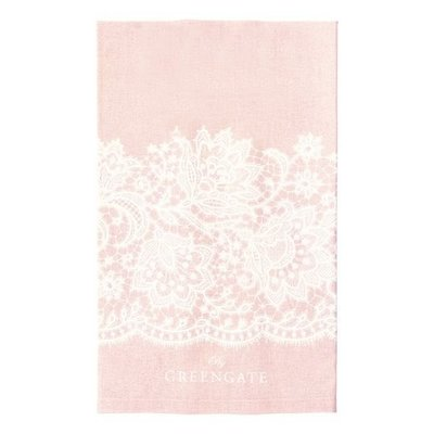 GreenGate Tea Towel Liva Pink