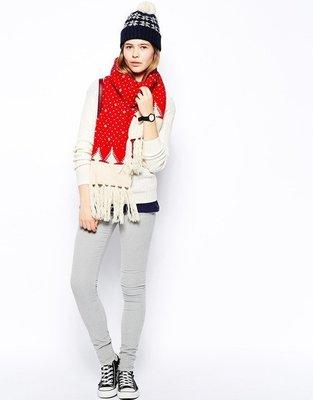 MISHIANA 英國品牌 JACK WILLS 羊毛材質圍巾Chisbury Scarf (當季新款上市.特價出售)