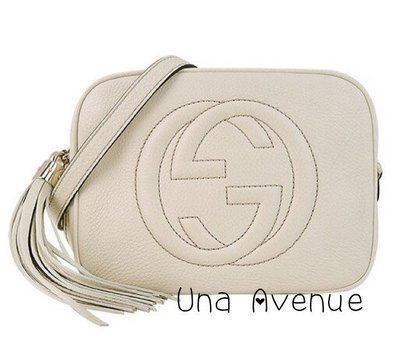 Una Avenue* 巴黎代購 GUCCI soho disco Leather bag 流蘇斜背肩背包 正品 現貨