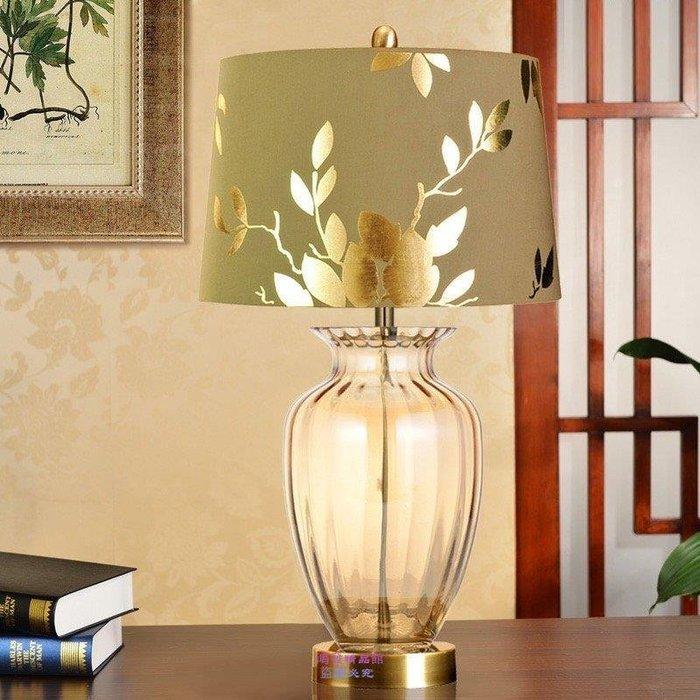 1924{名揚旗艦}歐式台燈 臥室床頭燈 裝飾奢華客廳燈 簡約婚慶燈