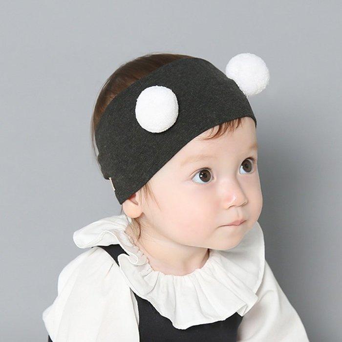 ☆草莓花園☆B42秋冬新品嬰兒髮帶 毛球棉布 安全舒適 兒童髮飾 寬髮箍 嬰兒髮帶 髮冠 皇冠 造型周歲照 藝術照
