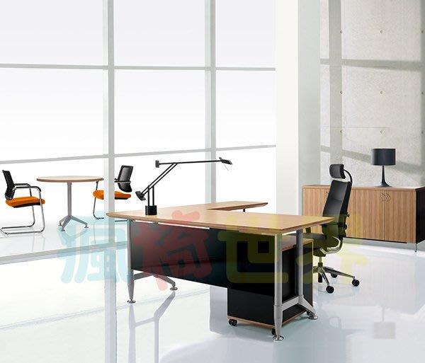 《瘋椅世界》OA辦公家具全系列 訂製高級主管桌 EN-A1001 (董事長桌/老闆桌/辦公桌/工作桌)