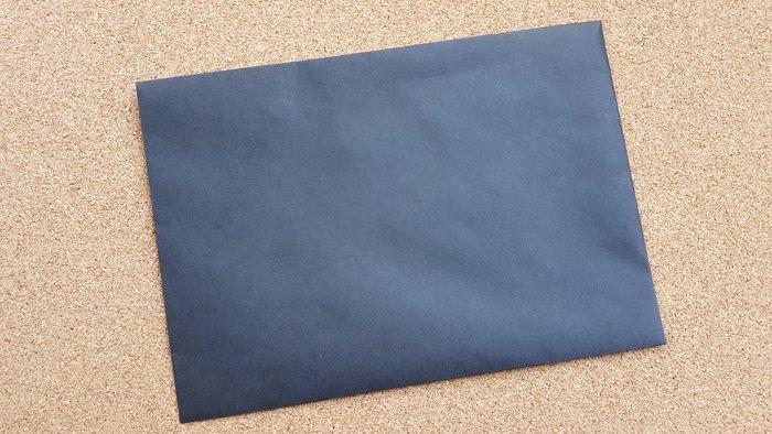 黑色無印16x11.4cm 西式 空白信封 黑色支票封 請柬信封 黑色信封 黑色信封 橫式西式信 極緻黑/黑 封蠟章