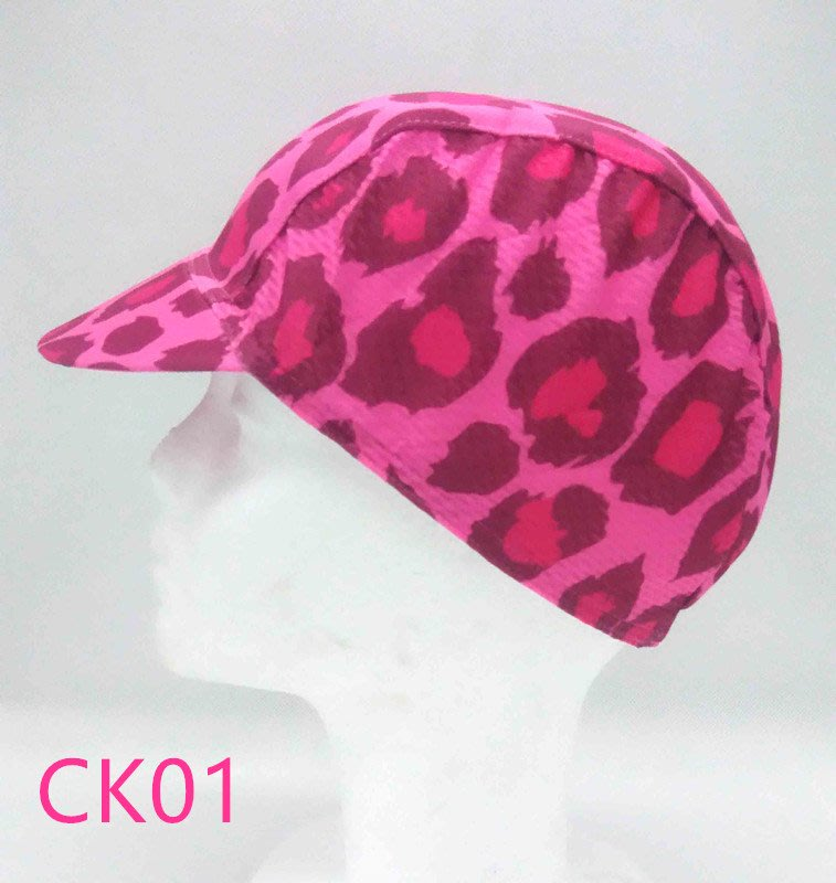 【獅子座單車】現貨  豹紋款 設計款 CK01 自行車 腳踏車 單車小帽 運動小帽 腳踏車騎行小帽 網眼布 防曬吸汗透氣