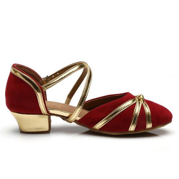 5Cgo【鴿樓】會員有優惠 42549734121  成人女童拉丁舞鞋 女兒童舞蹈鞋女孩少兒演出芭蕾練功跳舞鞋