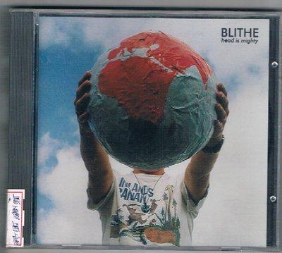 [鑫隆音樂]西洋CD-BLITHE / head is mighty {WECD057} 全新/免競標